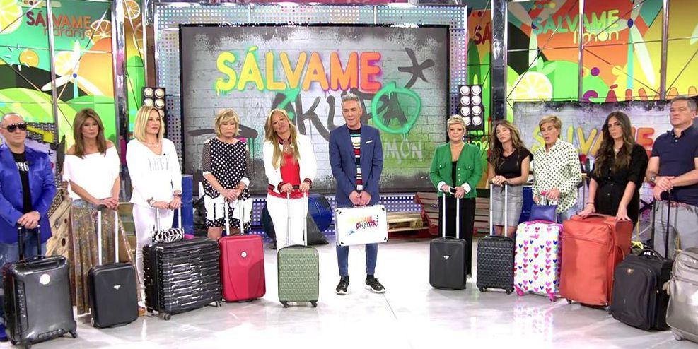 Belén Rodríguez, Chelo García Cortés, Sálvame, Sálvame Okupa, Víctor Sandoval, concursantes Sálvame Okupa, <a href=