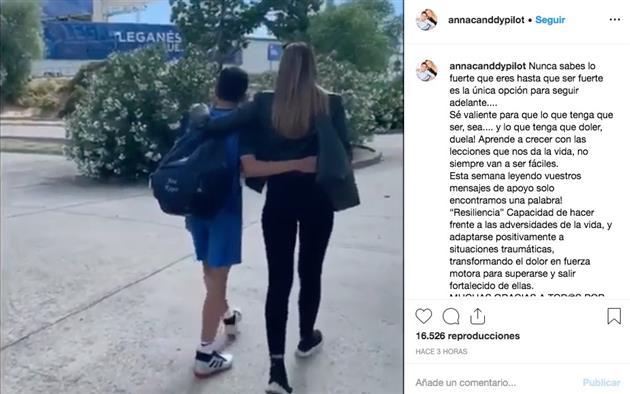 El mensaje de Ana López a su hijo
