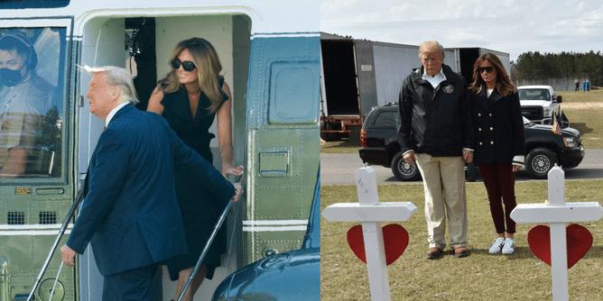 Usa Melania Trump una doble