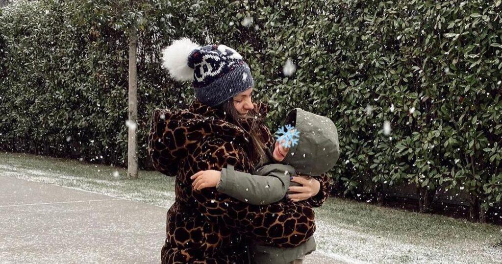 Laura Matamoros se refugia en su hija
