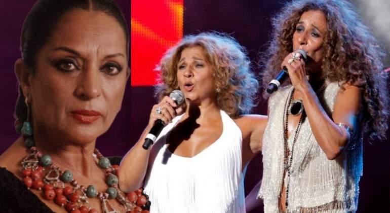 Rosario y Lolita Flores recuerdan a su madre