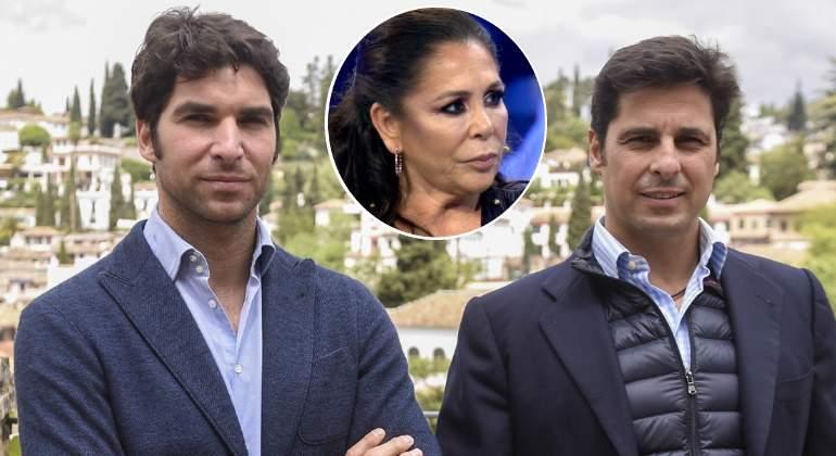FRANCISCO Y CAYETANO RIVERA se pronuncian sobre la compra de «Cantora»