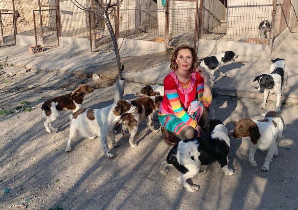Ágatha Ruiz de la Prada: «Rodeada de amigas»