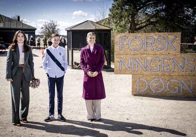La princesa Mary de Dinamarca abre el día de investigación 2021