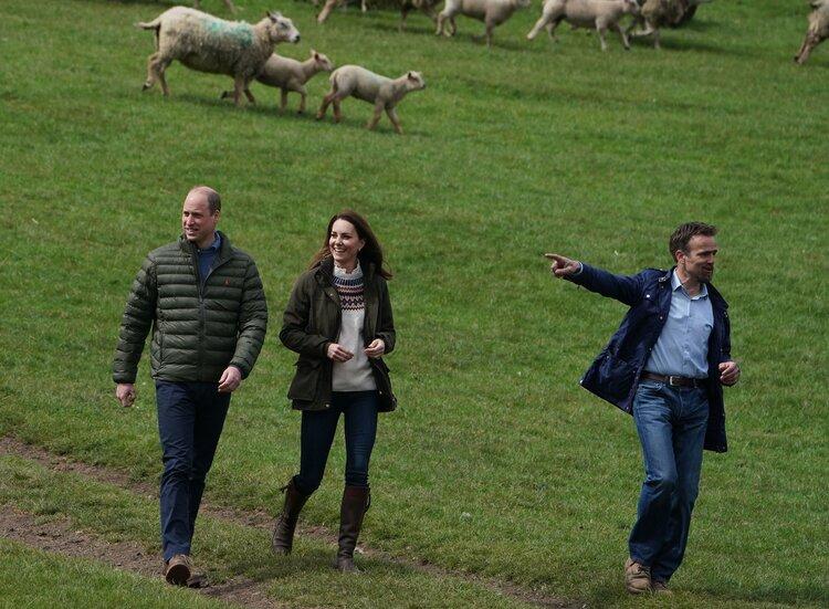 Los duques de Cambridge visitan el condado de Durham