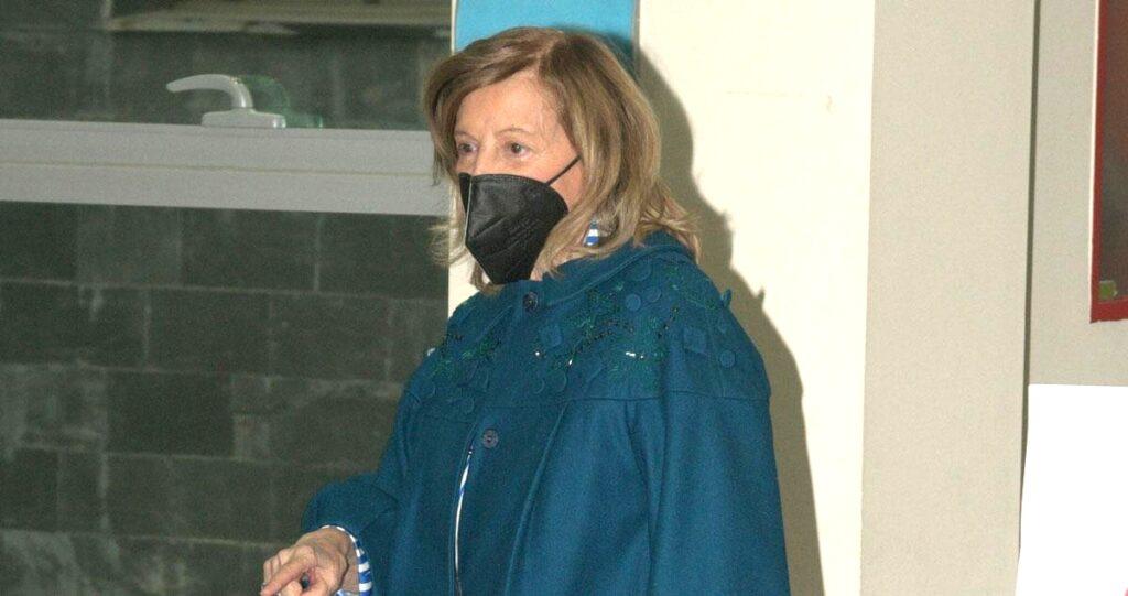 María Teresa Campos se vacuna contra la COVID-19