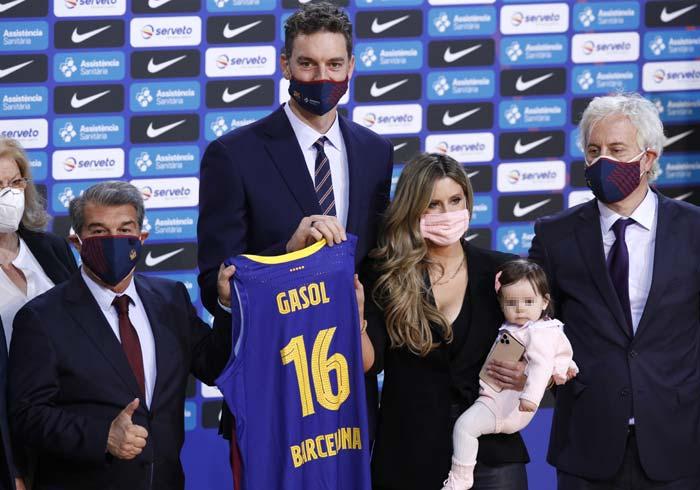 Pau Gasol eclipsado por su hija Ellie