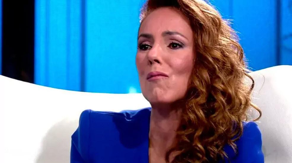Rocío Carrasco esta enferma. Nunca ha sido una mujer maltratada