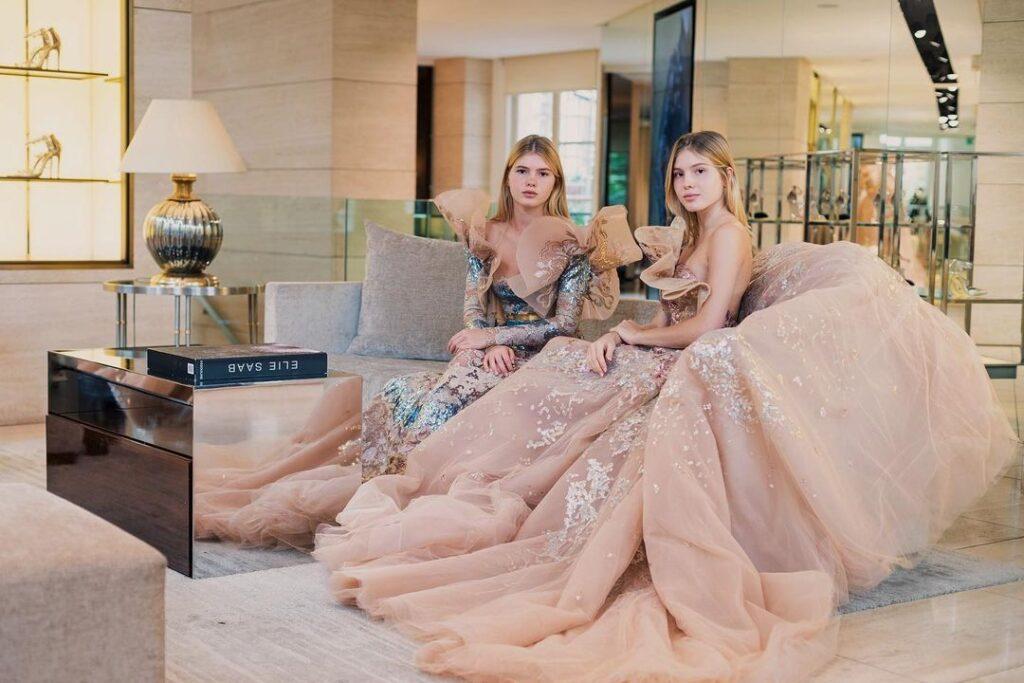 Cristina y Victoria, las gemelas de Julio Iglesias, emprendedoras