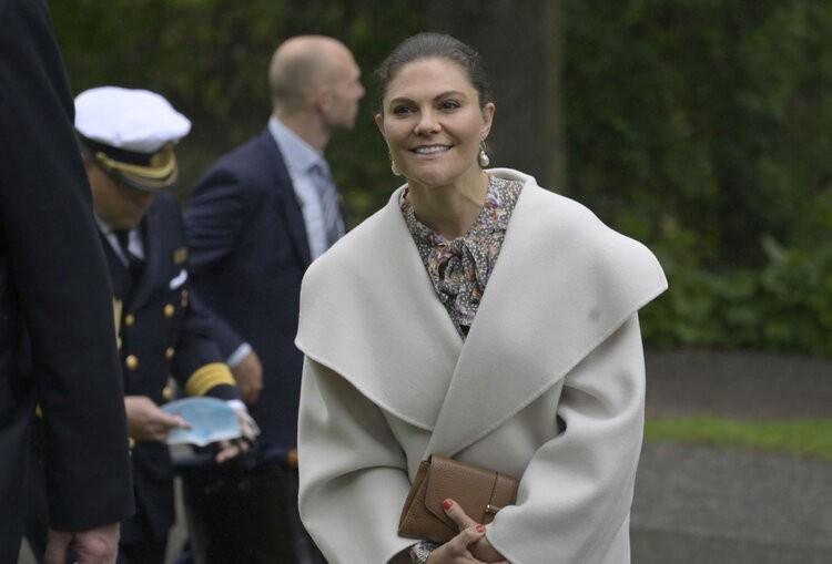 La Princesa Heredera Victoria de Suecia asiste al Museo Nórdico y a la Reunión Anual de Amigos de Skansen