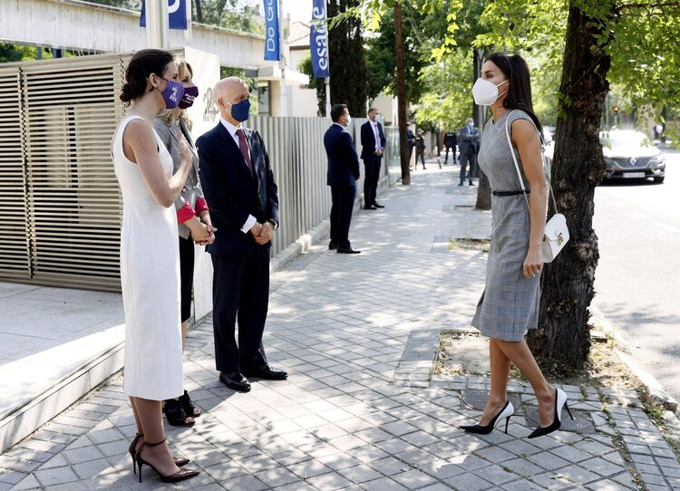 La Reina Letizia asiste a la reunión de FEDEPE