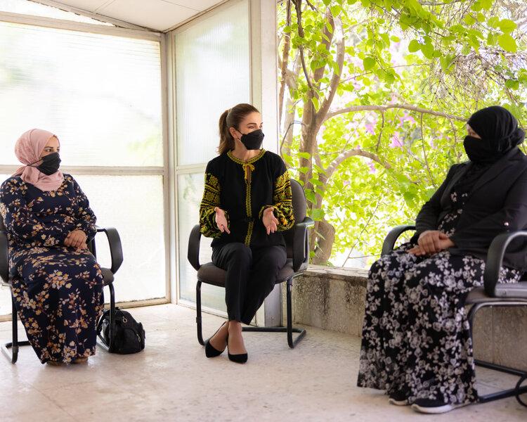 La reina Rania