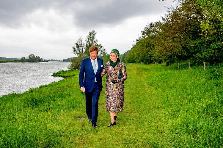 Los reyes de los Países Bajos visitan el norte de Limburgo