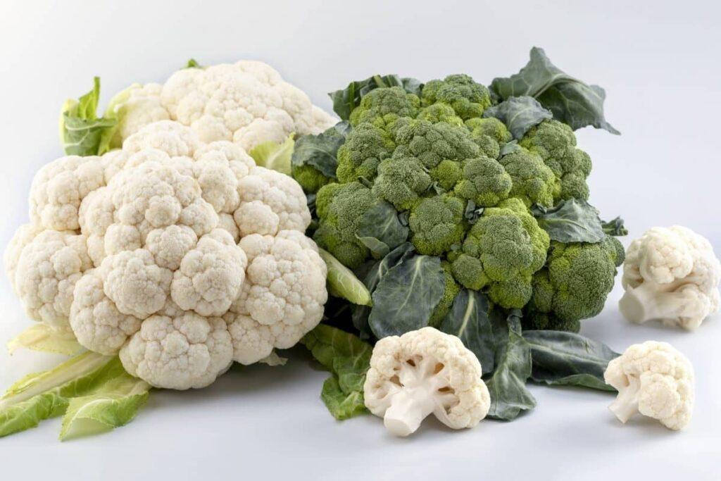 Todos los beneficios del brócoli y la coliflor
