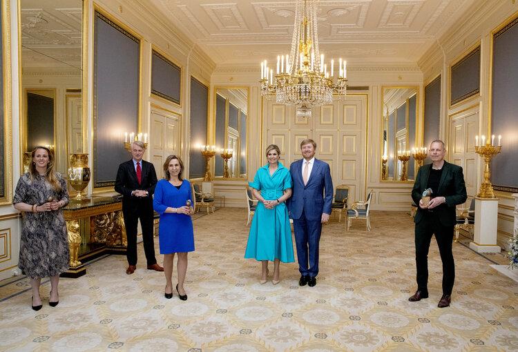 Los reyes de los Países Bajos entregan los Appeltjes van Oranje 2021