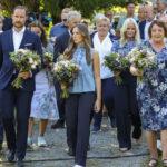 Los príncipes herederos de Noruega y la princesa Ingrid Alexandra conmemoran la Masacre del 22 de julio en Utøya