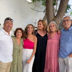 Paz Padilla y sus hermanos